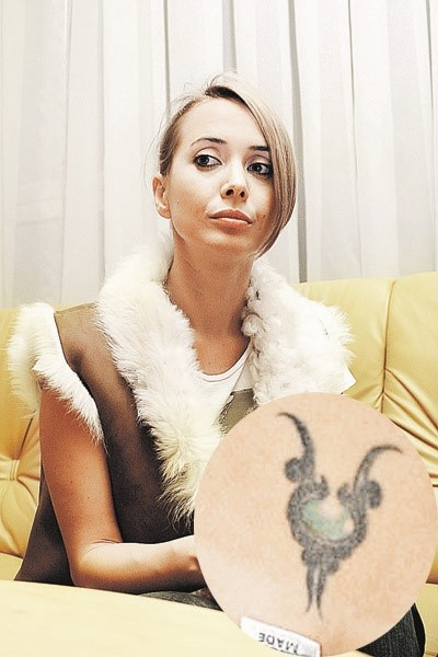 Жанна Фриске с татуировкой