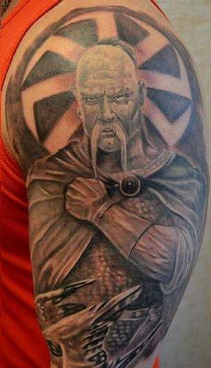 Татуировка казак - языческое значение