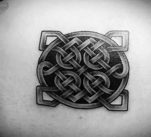 Кельтская татуировка - узор