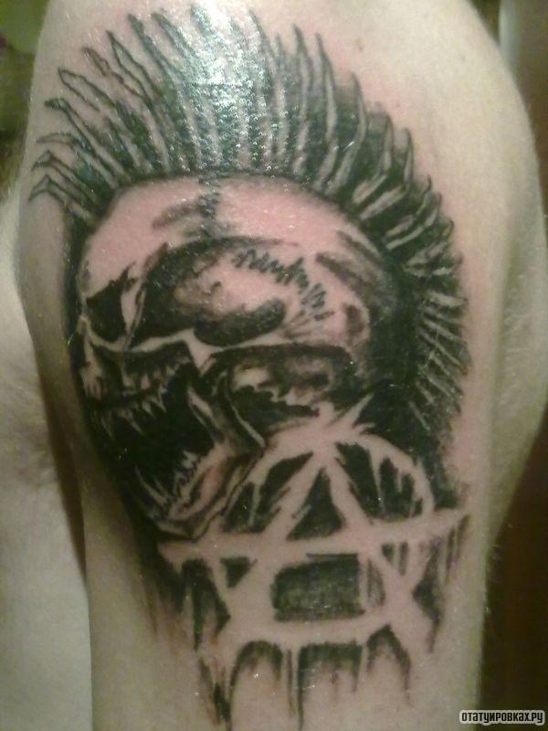Татуировка анархия