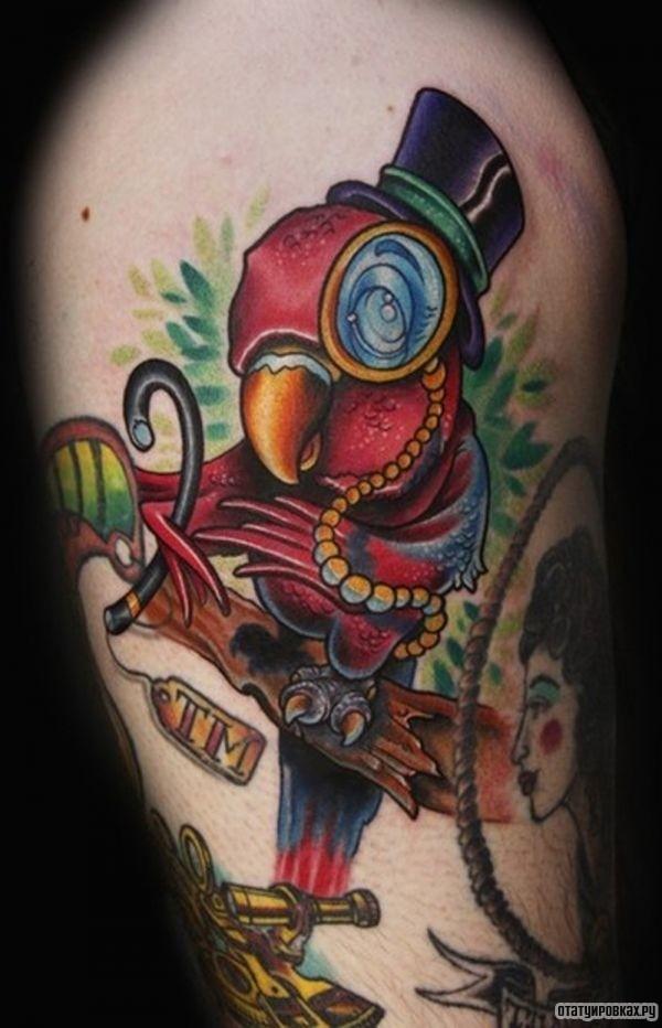 Татуировка цилиндр