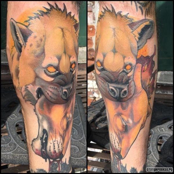 Татуировка гиена