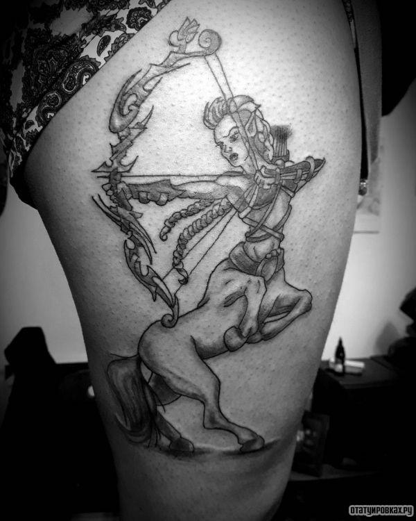 Татуировка кентавр