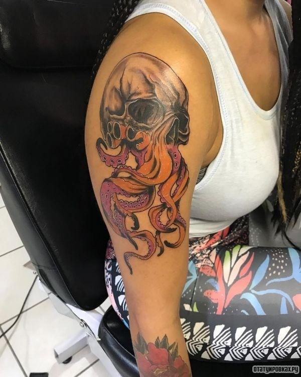 Татуировка кракен