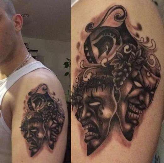 Маски - Татуировки и их значение