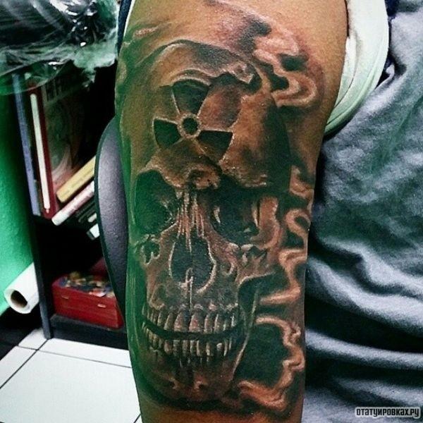 Татуировка радиация