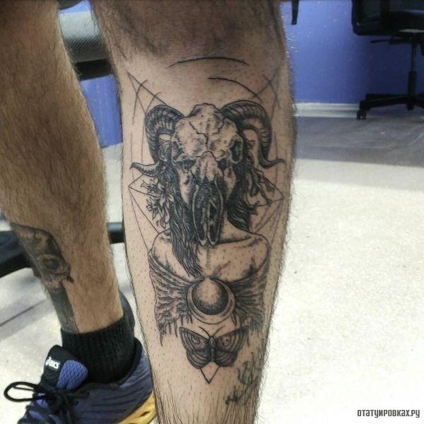 Татуировка сатана