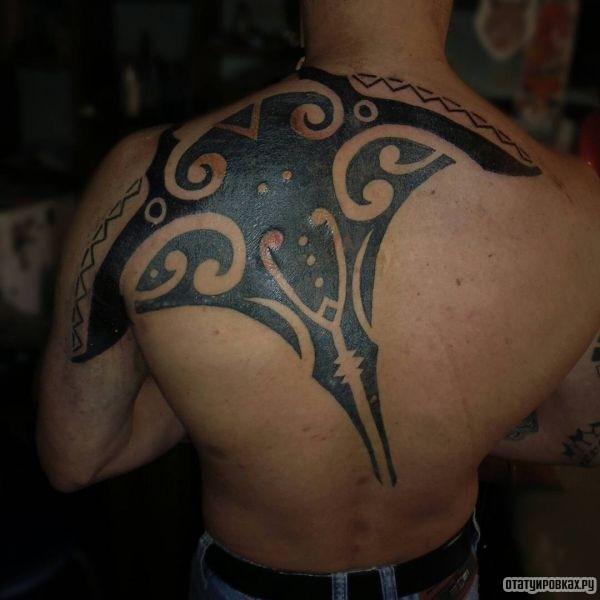 Татуировка скат