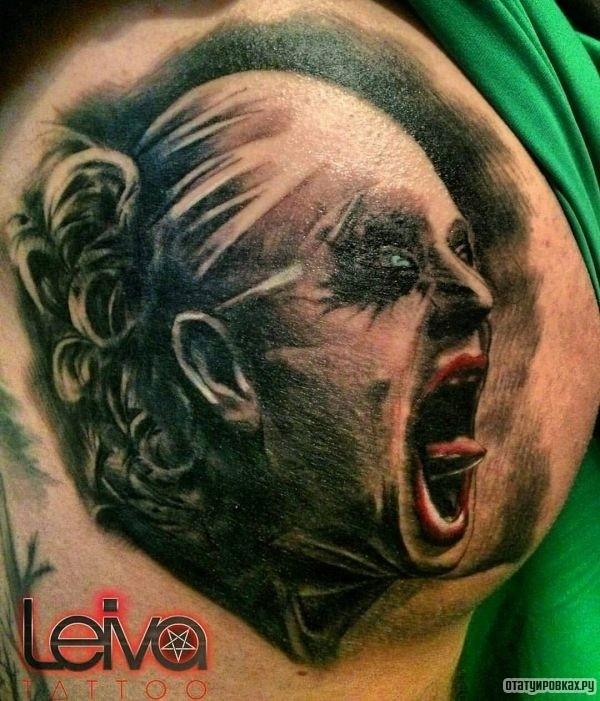 Татуировка страх