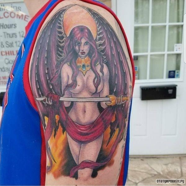 Татуировка суккуб