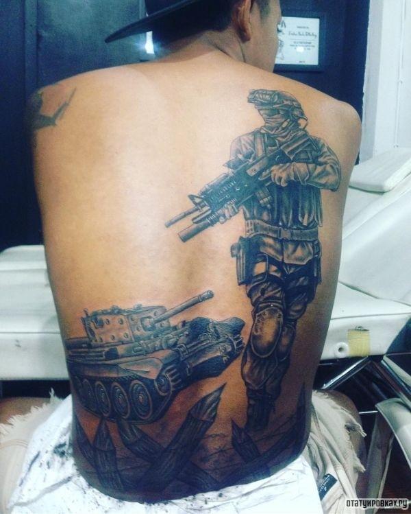 Татуировка война