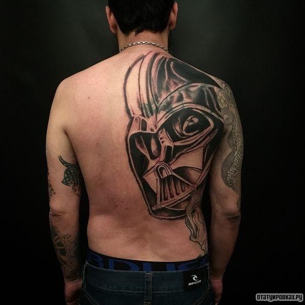 Татуировка звездные воины