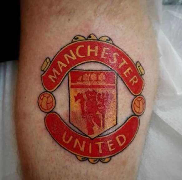 Эмблема футбольного клуба Манчестер Юнайтед