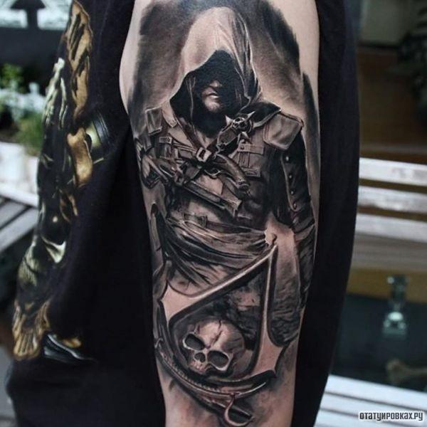 Татуировка Ассасин