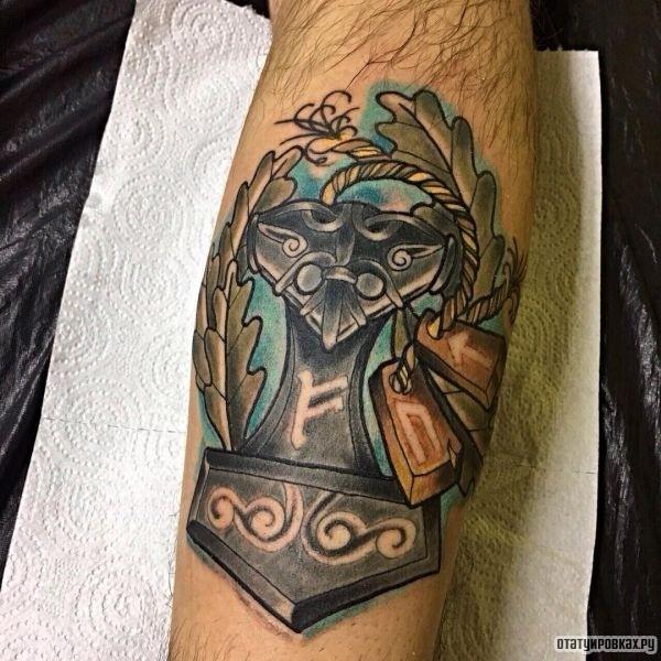 Татуировка мьелльнир