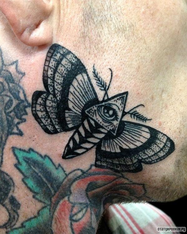 Татуировка моль