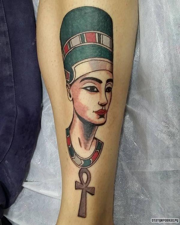 Татуировка Нефертити