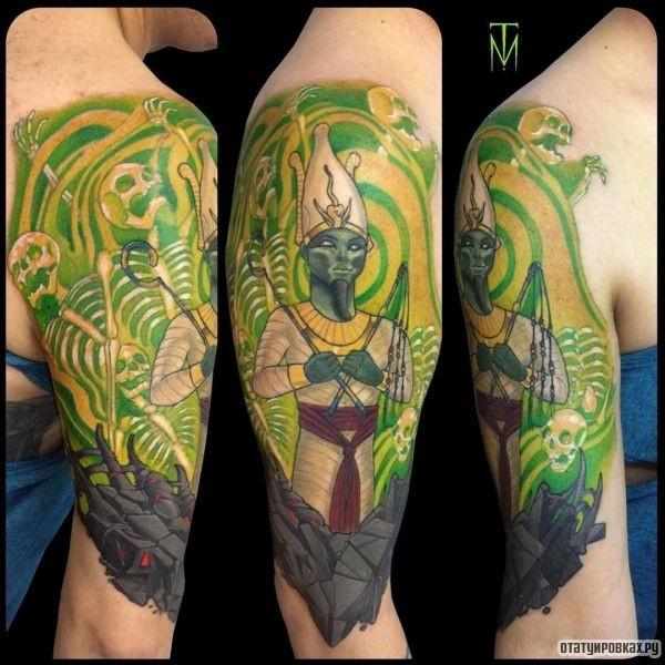 Татуировка Осирис
