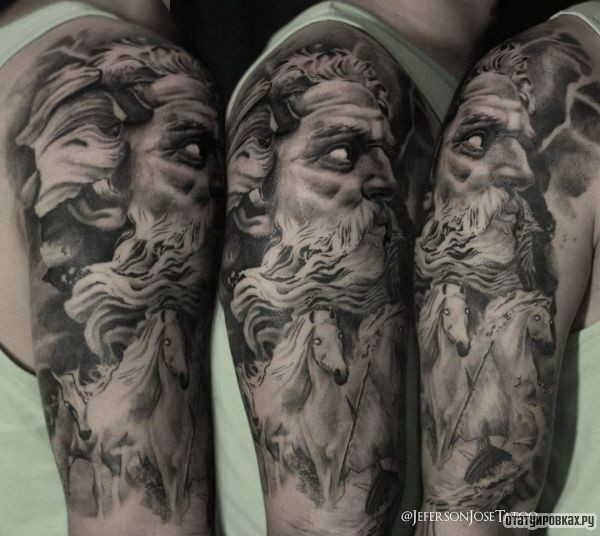 Татуировка Посейдон