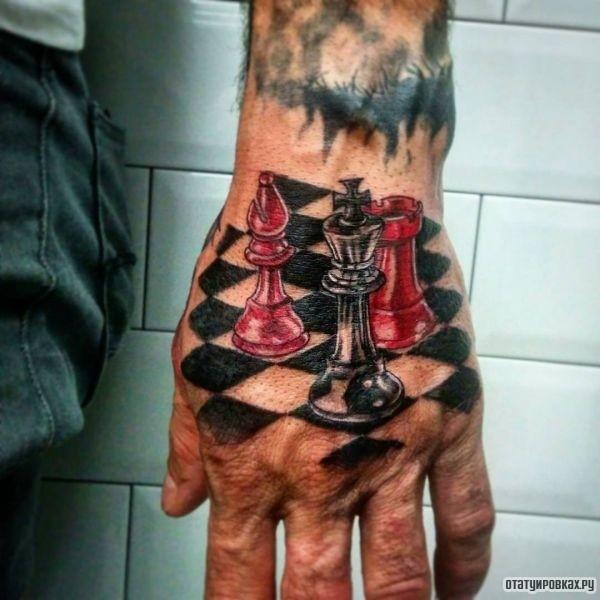 Татуировка шахматы