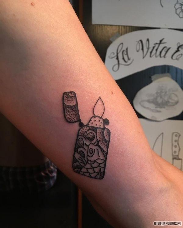 Татуировка спокойствие