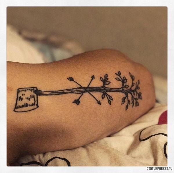 Татуировка топор