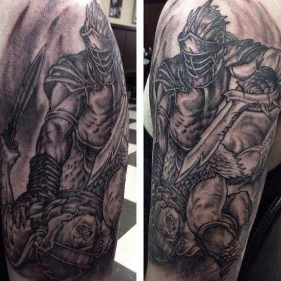 Гладиатор в бою