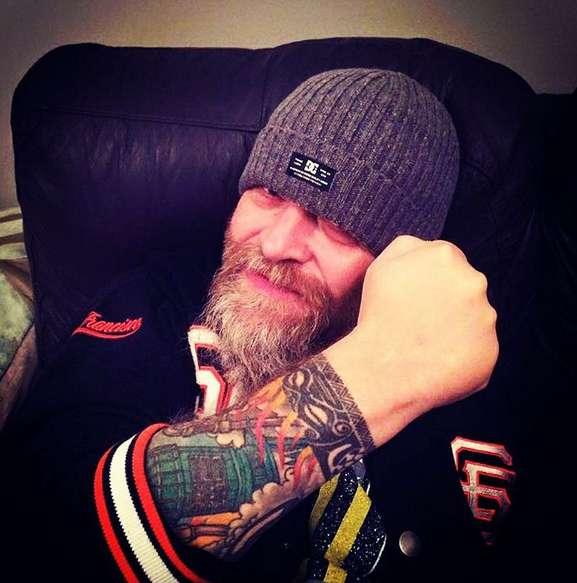 Татуировка-рукав байкера