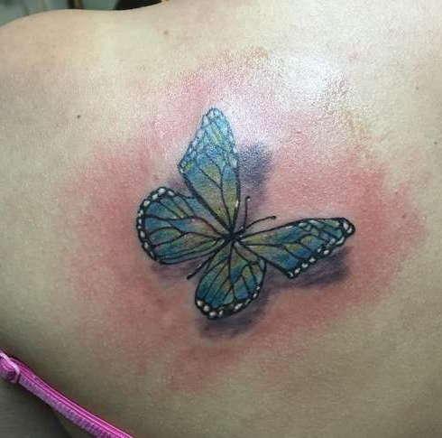Бабочка в 3D варианте