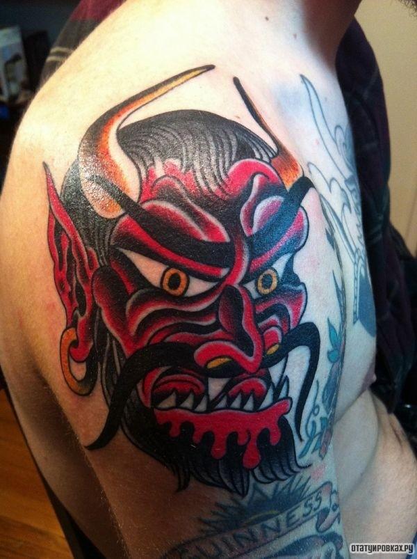 Татуировка черт
