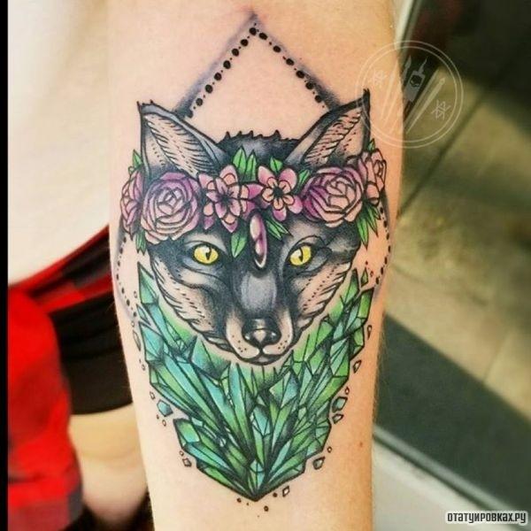 Татуировка изумруд