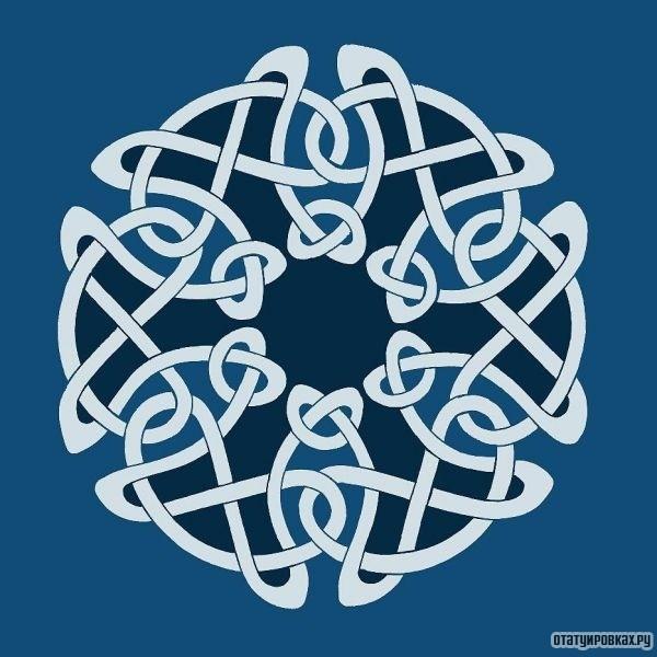 Татуировка кельтский узел