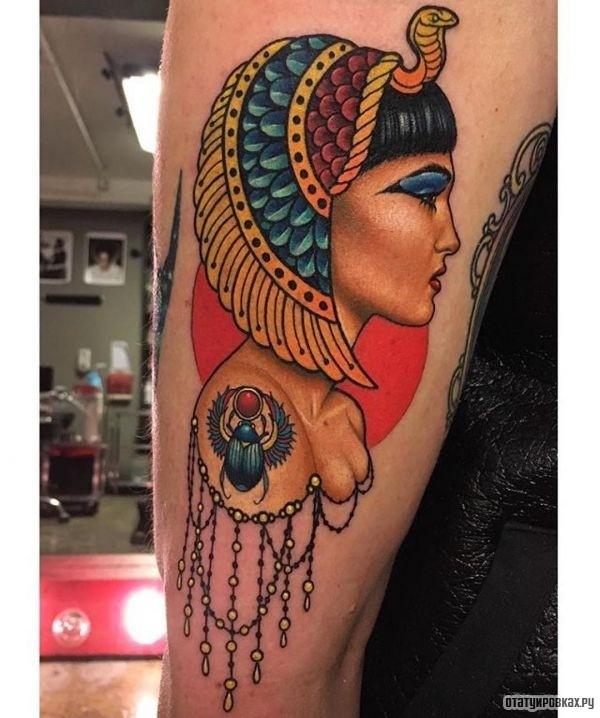 Татуировка клерпатра
