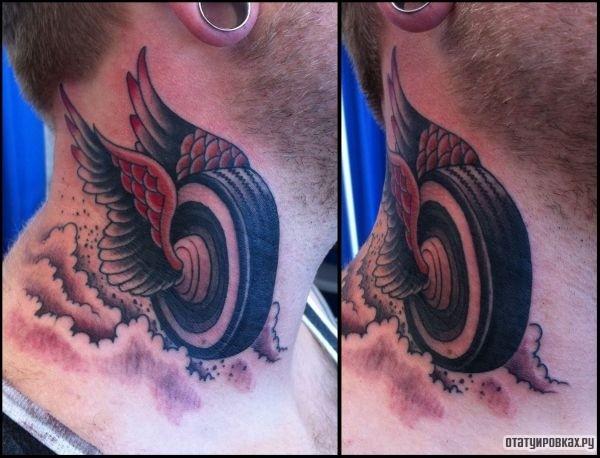 Татуировка колесо