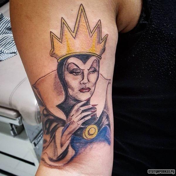Татуировка королева