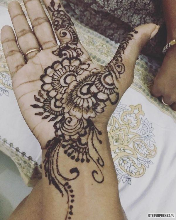 Татуировка мехенди