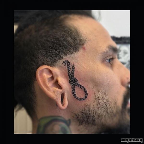 Татуировка петля