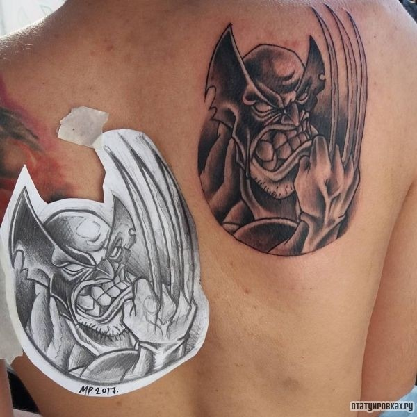 Татуировка Росомаха