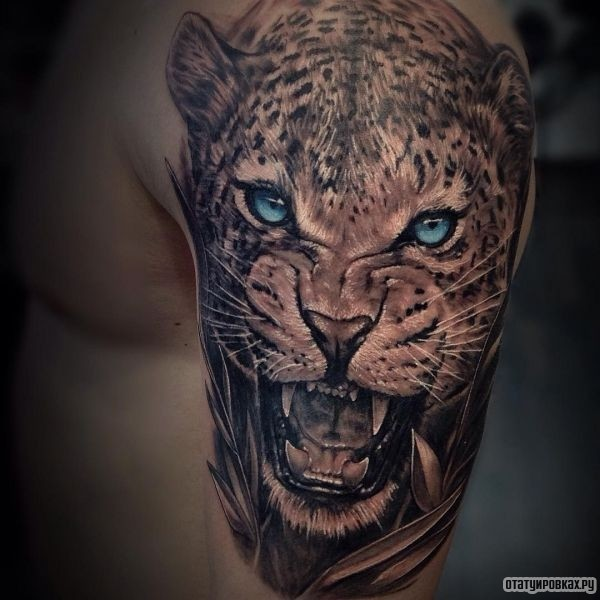 Татуировка ягуар