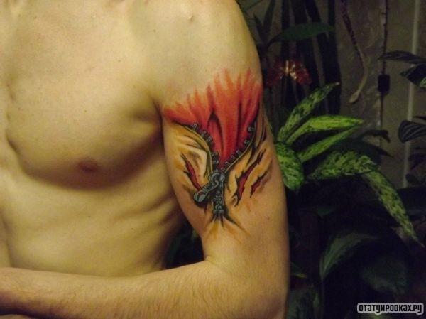 Татуировка застёжка