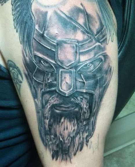 Взгляд злого викинга