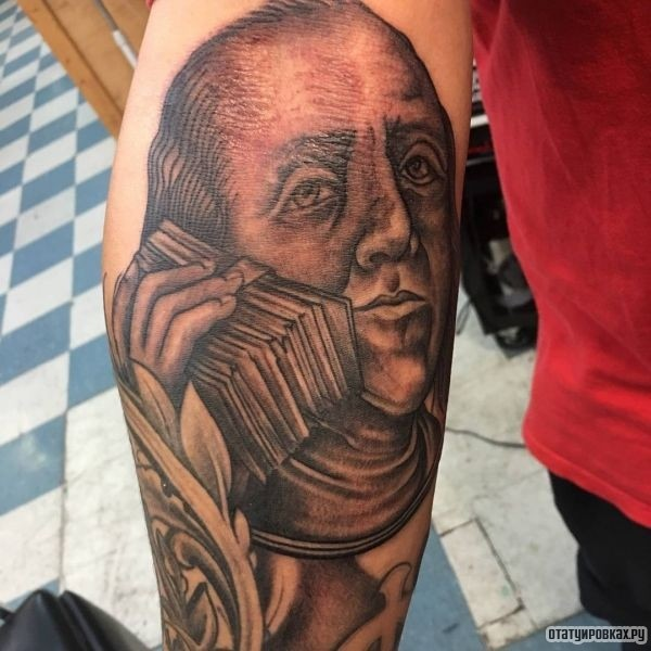 Татуировка богатство