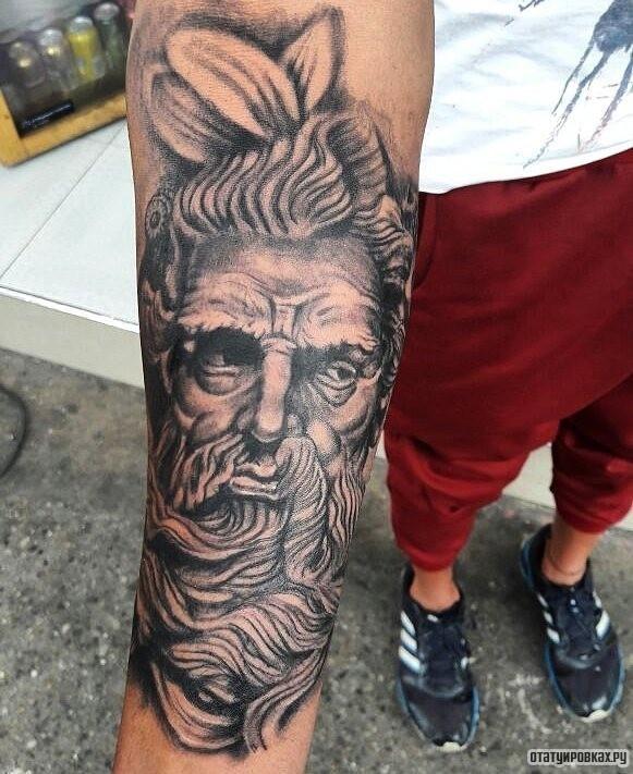 Татуировка нептун