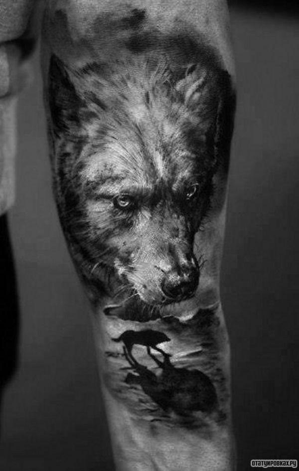 Татуировка одиночество
