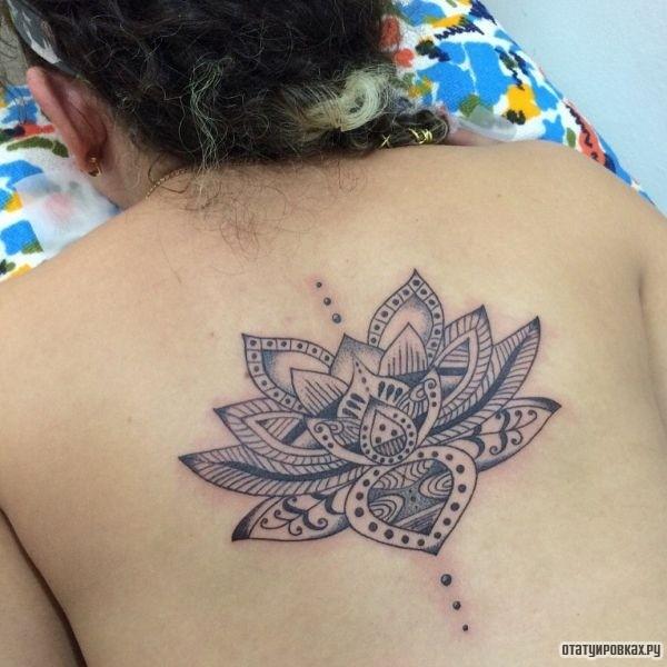 Татуировка орнаментал