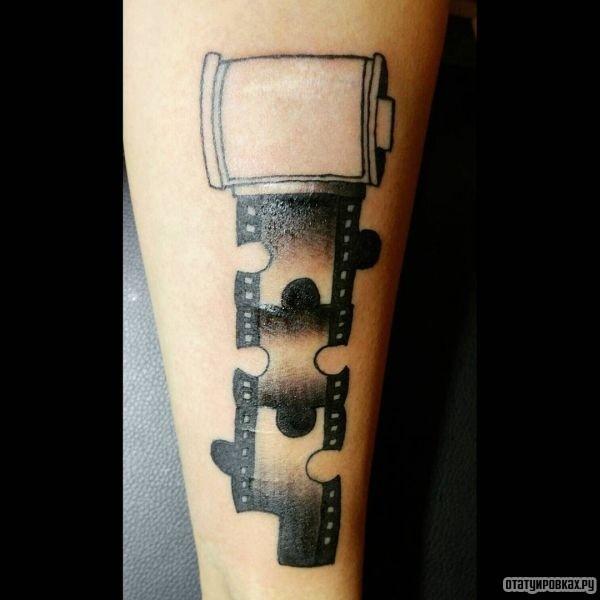 Татуировка пазл