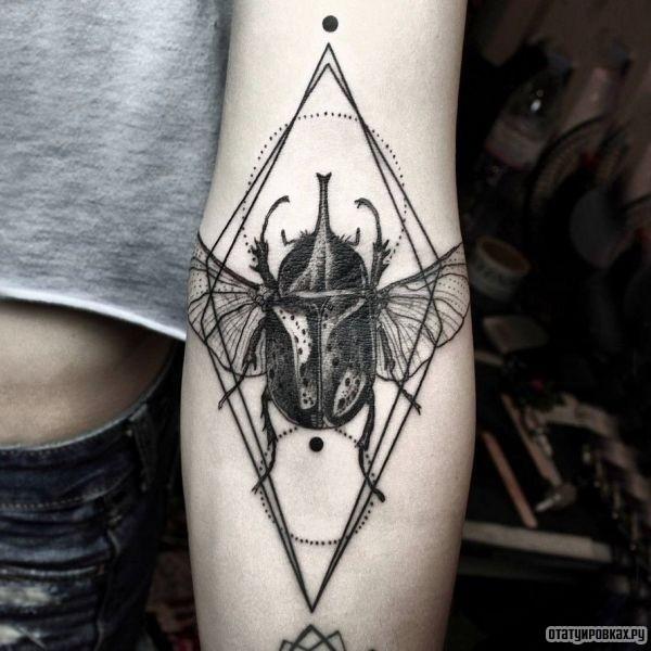 Татуировка ромб