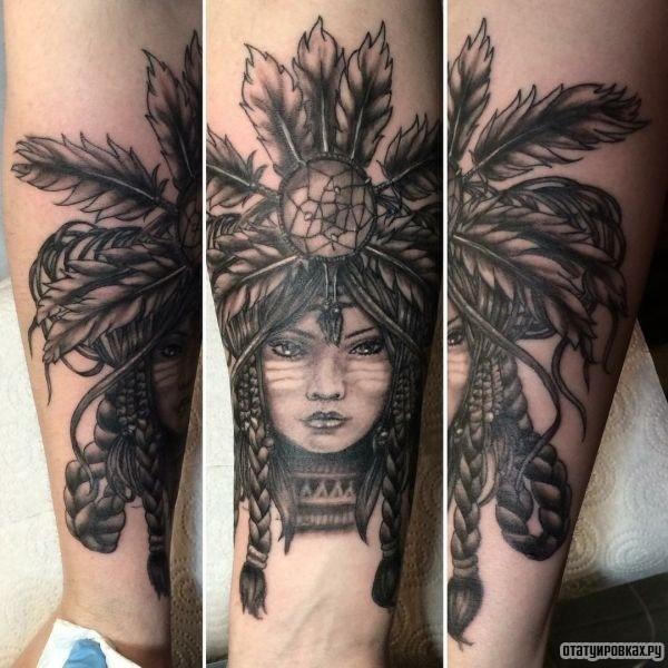 Татуировка шаман