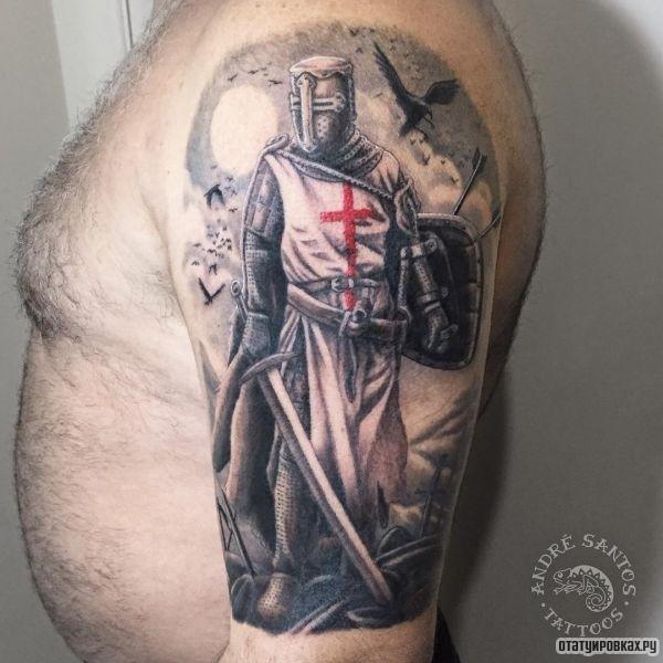 Татуировка тамплиер