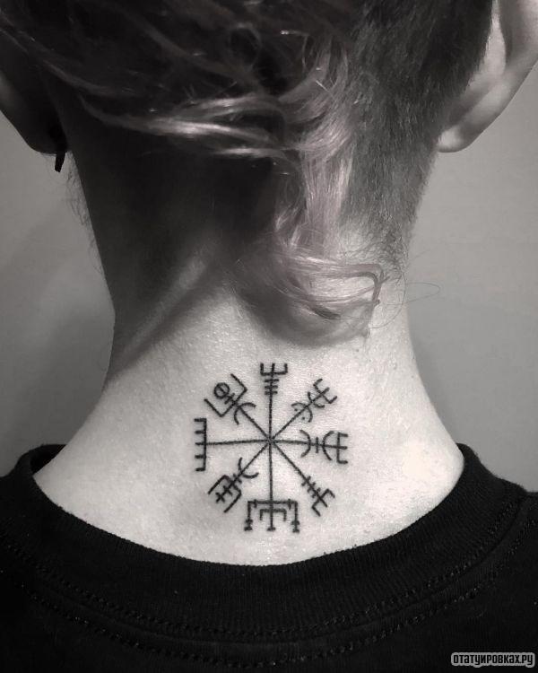 Татуировка вегвизир